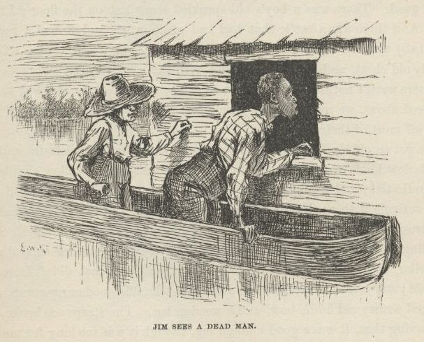 a focus on huck and jim in the novel huckleberry finn Questions on the adventures of huckleberry finn why does how were other characters in the novel similar huck finn is a huck and jim escape.