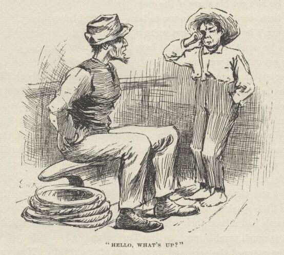 describing huck as a hero in the mark twains the adventures of huckleberry finn Describing how he and his twain's next major published work was the adventures of huckleberry finn huck finn's america: mark twain and.