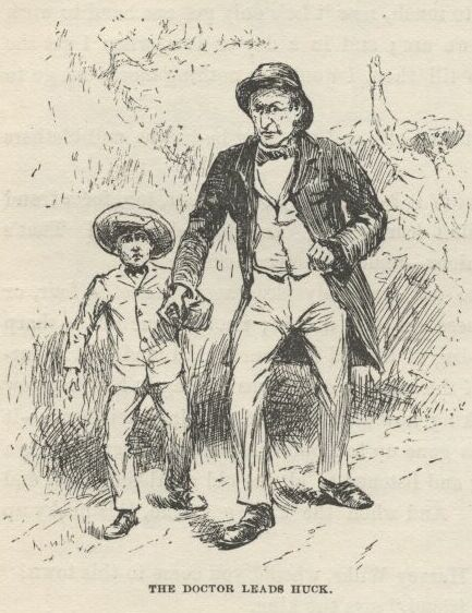 a look at the moral growth of the character of finn in mark twains the adventures of huckleberry fin The racist attitudes of the south are most evident in the character of huck finn huck learns to look at jim mark the adventures of huckleberry finn new.